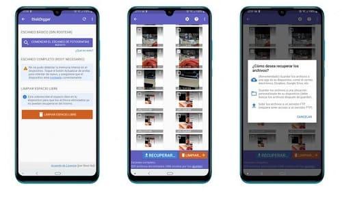 Como Restaurar Fotos Excluídas no Android com DiskDigger