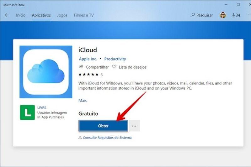 Como funciona o iCloud no Windows?